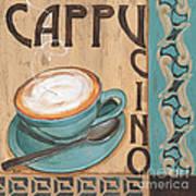 Cafe Nouveau 1 Art Print by Debbie DeWitt
