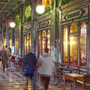 Caffe Florian Arcade Art Print