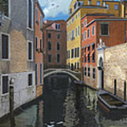 Canal Rhapsody Art Print