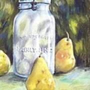 Canned Pears  Art Print