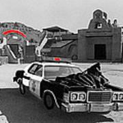 Cannonball Run 2 Brothel Set Mexican Plaza Old Tucson Arizona 1984 Art Print