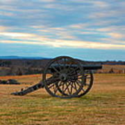 Cannons Of Manassas Battlefield Art Print
