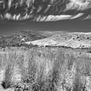 Capricious Clouds In The Volcanic Planet Art Print