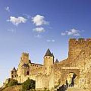 Carcassonne Languedoc-roussillon France Art Print by Colin and Linda McKie