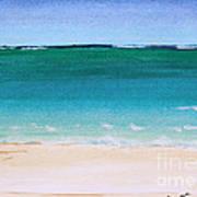 Ocean Turquoise Waters Art Print