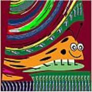 Cartoons Kids Love Electronic Survillance Organic Spy Agents Art Print
