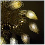 Cascading Light Art Print