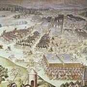 Castello, Fabrizio 1562-1617. Battle Art Print