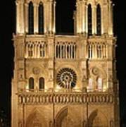 Cathedral Of Notre Dam Art Print