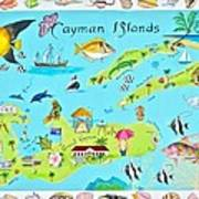Cayman Islands Art Print