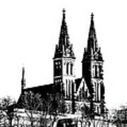 Chapter Church Of St Peter And Paul Art Print