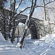 Cheshire Railroad Bridge Art Print