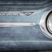 Chevrolet Corvair Emblem Art Print