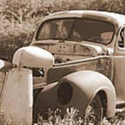 Chevrolet Rust Bucket Art Print