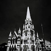 Black And White Basilica Art Print