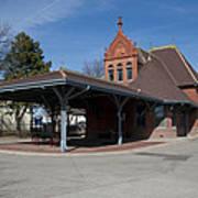 Chicago Rock Island Pacific Railway Depot Art Print