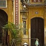 Chinese Temple In Hanoi Vietnam Art Print