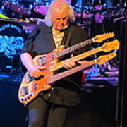 Chris Squire Of Yes Art Print