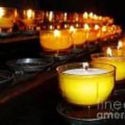 Church Candles Art Print