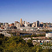 Cincinnati, Ohio Art Print