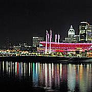 Cincinnati Skyline 3 Art Print