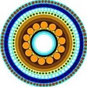 Circle Motif 214 Art Print