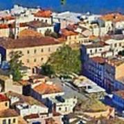 City Of Nafplio Art Print