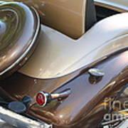 Classic Antique Car- Detail Art Print