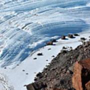 Cliffs And Sea Ice Art Print