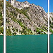Colchuck Lake, Alpine Lakes Wilderness Art Print