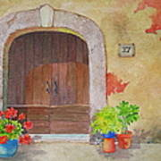 Color Me Tuscany Art Print