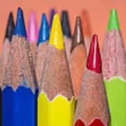 Color Pencil Art Print