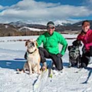 Colorado Cross Country Skiing Art Print