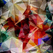 Colorful Geometric Abstract Art Print