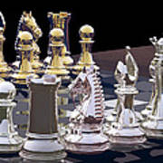 Competition - Chess Art Print