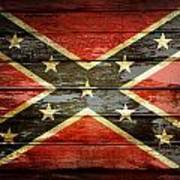 Confederate Flag 1 Art Print