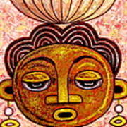 Congalese Face 2 Art Print