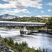 Cornish-windsor Covered Bridge IIi Art Print