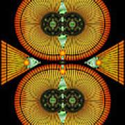 Cosmic Mitosis Art Print