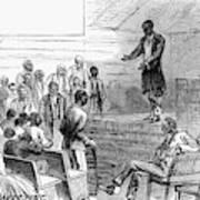 Cotton Plantation, 1867 Art Print