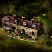 Country House In Bakewell Town Peak District - England Art Print