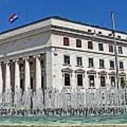 Croatian National Bank Zagreb Art Print