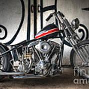 Custom Bike  Art Print