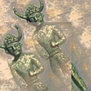 Cyprus Gods Of Trade. Art Print