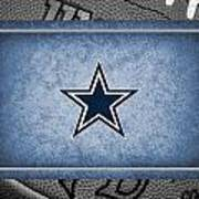 Dallas Cowboys Art Print by Joe Hamilton