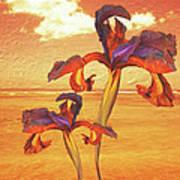Dancing In The Sunset Art Print