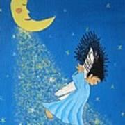 Dancing On Moonbeams Art Print