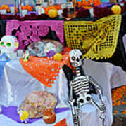 Day Of The Dead Altar, Mexico Art Print