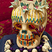 Day Of The Dead Remembrance, Mexico Art Print