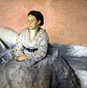 Degas' Madame Rene De Gas Art Print